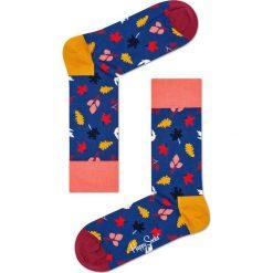 Happy Socks - Skarpety Fall. Różowe skarpetki męskie Happy Socks. W wyprzedaży za 27,90 zł.