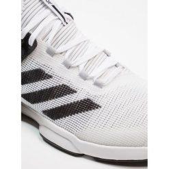 Adidas Performance ADIZERO UBERSONIC 2 Obuwie do tenisa Outdoor footwear white/core black/grey two. Białe buty do tenisa męskie adidas Performance, z materiału. W wyprzedaży za 389,35 zł.