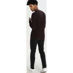 Swetry klasyczne męskie: Selected Homme SHHKENNET  Sweter decadent chocolate/moonless night