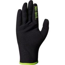 Rękawiczki męskie: Nike Rękawiczki męskie Lightweight Rival Run Gloves 2.0 czarno-zielone r. M