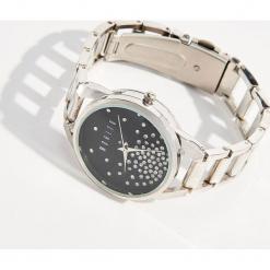 Zegarek na bransolecie z ozdobną tarczą - Srebrny. Szare zegarki damskie Mohito, srebrne. Za 59,99 zł.