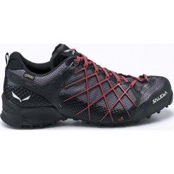 Salewa - Buty MS Wildfire Gtx. Czarne buty trekkingowe męskie Salewa, z gore-texu, na sznurówki, outdoorowe, gore-tex. W wyprzedaży za 599,90 zł.