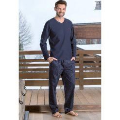 Męska piżama DODO Luis. Niebieskie piżamy męskie marki Astratex, z bawełny. Za 161,99 zł.