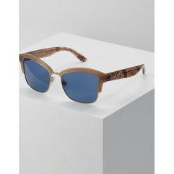 Burberry Okulary przeciwsłoneczne light brown. Brązowe okulary przeciwsłoneczne damskie aviatory Burberry. Za 739,00 zł.