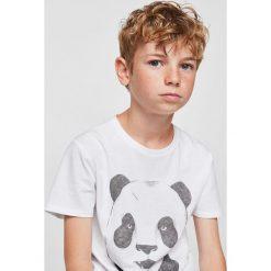 Odzież dziecięca: Mango Kids – T-shirt dziecięcy Fierce 104-164 cm