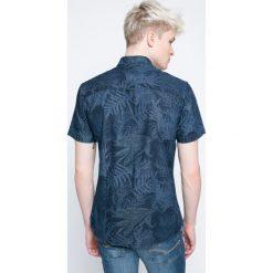 Produkt by Jack & Jones - Koszula. Szare koszule męskie na spinki marki PRODUKT by Jack & Jones, l, z bawełny, button down, z krótkim rękawem. W wyprzedaży za 59,90 zł.