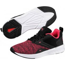 Puma Buty Sportowe Nrgy Comet Black Paradise Pink 37,5. Czarne buty do biegania damskie Puma. Za 229,00 zł.