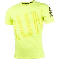 T-shirty męskie: koszulka do biegania męska REEBOK ONE SERIES RUNNING SHORT SLEEVE ACTIVCHILL TEE / BK7323