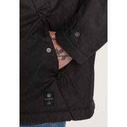 Element FREEMAN Parka flint black. Czarne parki męskie marki Element, m, z bawełny. W wyprzedaży za 551,20 zł.