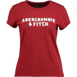 T-shirty damskie: Abercrombie & Fitch SEASONAL LOGO TEE Tshirt z nadrukiem dark red