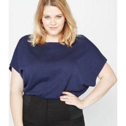 Swetry damskie: Kwadratowy sweter bez rękawów