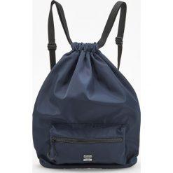Plecaki męskie: Plecak worek – Granatowy