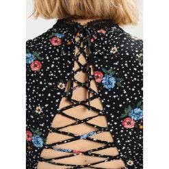 Sukienki hiszpanki: Topshop STAR FLORAL  Sukienka letnia black