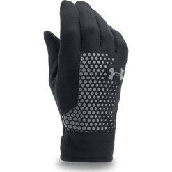 Rękawiczki męskie: Under Armour Rękawiczki męskie Threadborne Run Glove czarne r. M (1298515)