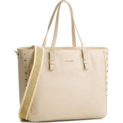 Torebka TWINSET - Shoping OS8TBC Dune 00416. Brązowe torebki klasyczne damskie marki Twinset, ze skóry, duże. W wyprzedaży za 759,00 zł.