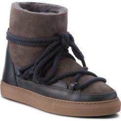 Buty INUIKII - Sneaker Classic 70202-5 D'Grey. Niebieskie buty zimowe damskie Inuikii, ze skóry, na niskim obcasie. Za 1049,00 zł.
