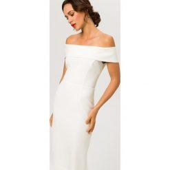 Sukienki hiszpanki: IVY & OAK CARMEN Sukienka etui snow white