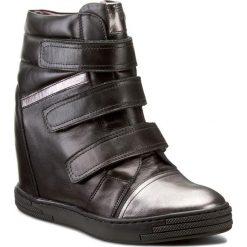 Sneakersy KARINO - 1694/076-P Czarny. Fioletowe sneakersy damskie marki Karino, ze skóry. W wyprzedaży za 279,00 zł.