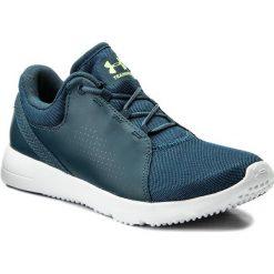 Buty UNDER ARMOUR - Ua W Squad 1296212-918 Tui/Wht/Qle. Niebieskie buty do fitnessu damskie marki Salomon, z gore-texu, na sznurówki, gore-tex. W wyprzedaży za 169,00 zł.