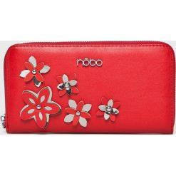 Nobo - Portfel. Czerwone portfele damskie Nobo, z materiału. Za 129,90 zł.
