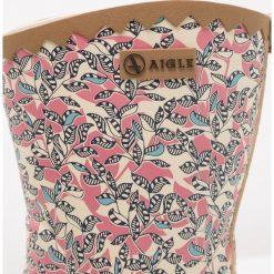 Aigle VICTORINE BOTTILION PRINT Kalosze malaga. Czerwone kalosze damskie Aigle, z materiału. Za 249,00 zł.