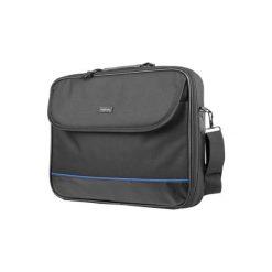 Torba do laptopa NATEC Impala 17.3 cala Czarny. Czarne torby na laptopa marki Natec, w paski, z nylonu. Za 24,50 zł.