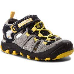 Sandały PRIMIGI - 1457900 Perla/N. Szare sandały chłopięce Primigi, z materiału. W wyprzedaży za 169,00 zł.