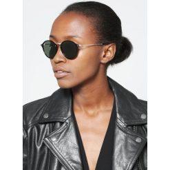 RayBan Okulary przeciwsłoneczne black. Szare okulary przeciwsłoneczne damskie lenonki marki Ray-Ban, z materiału. Za 619,00 zł.