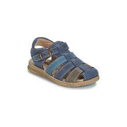 Sandały Dziecko  Citrouille et Compagnie  ZIDOU. Niebieskie sandały chłopięce Citrouille et Compagnie. Za 179,00 zł.
