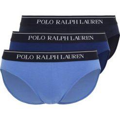 Polo Ralph Lauren LOW RISE BRIEFS 3 PACK Figi blue denim tone. Niebieskie bokserki męskie Polo Ralph Lauren, z bawełny. W wyprzedaży za 152,10 zł.