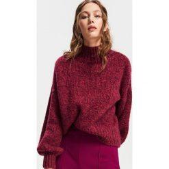 Sweter z wełną - Fioletowy. Fioletowe swetry klasyczne damskie Reserved, l, z wełny. Za 179,99 zł.