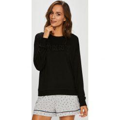 Dkny - Bluzka piżamowa. Szare koszule nocne i halki marki DKNY, l, z dzianiny. W wyprzedaży za 219,90 zł.
