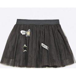 Name it - Spódnica dziecięce 92-122 cm. Czarne minispódniczki marki Name it, s, z bawełny, rozkloszowane. W wyprzedaży za 59,90 zł.