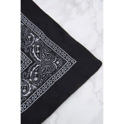 Apaszki damskie: NA-KD Accessories Apaszka – bandana – Black