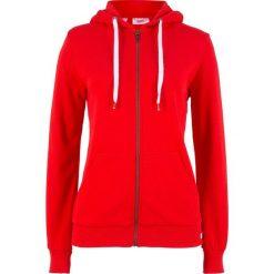 Bluza rozpinana bonprix truskawkowy. Czerwone bluzy rozpinane damskie marki bonprix. Za 37,99 zł.