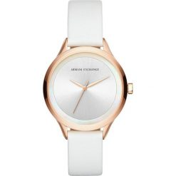 Armani Exchange Zegarek weiss. Białe, analogowe zegarki damskie Armani Exchange. Za 629,00 zł.