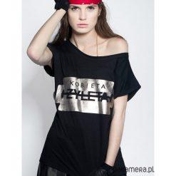 Koszulka miętowa Kizia Mizia. Zielone bluzki z odkrytymi ramionami Pakamera. Za 79,00 zł.