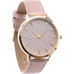 Beżowy Zegarek Limits. Brązowe zegarki damskie Born2be. Za 24,99 zł.