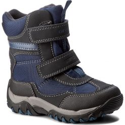 Buty zimowe chłopięce: Śniegowce GEOX – J Alaska B.B Wpf A J642ZA 01150 C0700 M Navy/Avio