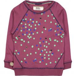 """Bluza """"Let's All Chant"""" w kolorze bordowym. Czerwone bluzy niemowlęce 4FunkyFlavours Kids, w kropki. W wyprzedaży za 102,95 zł."""