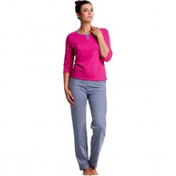 Piżama w kolorze różowo-szarym - koszulka, spodnie. Czerwone piżamy damskie Doctor Nap, xl. W wyprzedaży za 72,95 zł.