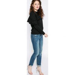 Noisy May - Bluza. Szare bluzy damskie marki Noisy May, l, z bawełny, bez kaptura. W wyprzedaży za 39,90 zł.