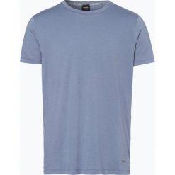 T-shirty męskie: BOSS Casual – T-shirt męski – Typer, niebieski