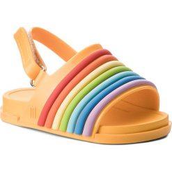 Sandały dziewczęce: Sandały MELISSA – Mini Melissa Beach Slide Sanda 32486 Yellow/Colorfull 53332