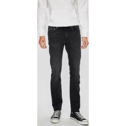 Calvin Klein Jeans - Jeansy. Czarne jeansy męskie slim marki Calvin Klein Jeans, z bawełny. Za 539,90 zł.