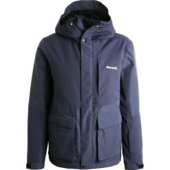 Bench FABRIC Kurtka snowboardowa dark navy blue. Niebieskie kurtki narciarskie męskie Bench, m, z materiału. W wyprzedaży za 607,20 zł.
