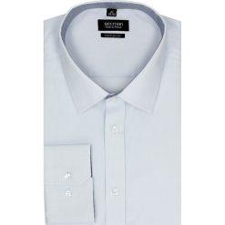 Koszula bexley 2385 długi rękaw custom fit niebieski. Białe koszule męskie na spinki marki bonprix, z klasycznym kołnierzykiem. Za 89,99 zł.