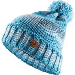 Czapka damska CAD606 - turkus melanż - Outhorn. Niebieskie czapki zimowe damskie Outhorn, na zimę, melanż, z polaru. Za 34,99 zł.