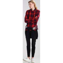 Lee SCARLETT CROPPED Jeans Skinny Fit charcoal black. Czarne rurki damskie Lee. W wyprzedaży za 263,20 zł.