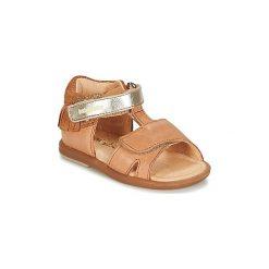 Sandały Dziecko  Babybotte  TCHIPI. Brązowe sandały dziewczęce marki Babybotte. Za 319,00 zł.